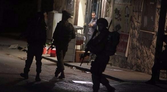 الجيش الإسرائيلي يعتقل 7 فلسطينيين في الضفة