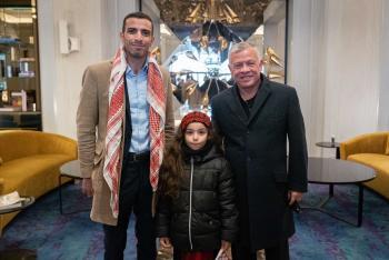 الملك يلتقي رئيس الجالية الأردنية في وارسو