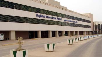 إطلاق 3 صواريخ باتجاه مطار بغداد الدولي