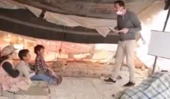 استقالة  عمر البدور المعلم الاكثر تأثيرا في الأردن