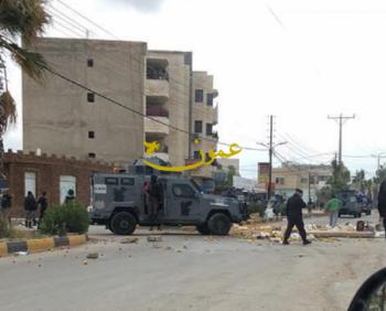اطلاق عيارات نارية أمام منزل عضو بلدية الصريح بركات العمارين