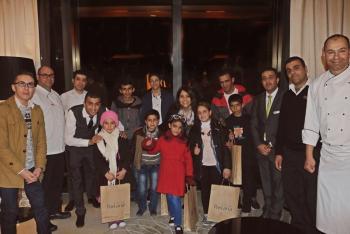 روتانا يستضيف أطفال الحسين للسرطان