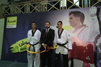 أحمد ابو غوش سفيراً للشباب و الرياضة لشركة أمنية