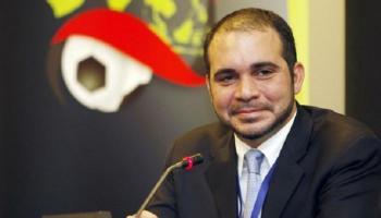 الأمير علي يهنئ الأمير عبدالعزيز الفيصل برئاسة الاتحاد العربي للكرة
