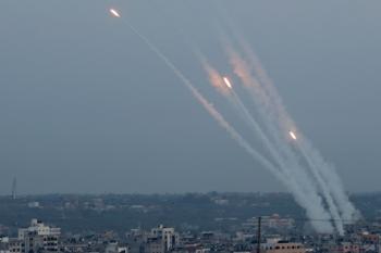 رشقة صـاروخية جديدة من غزة واصابات بين المستوطنين