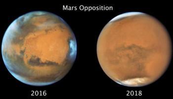 عاصفة ترابية ضخمة اجتاحت المريخ قبل 4 سنوات ..  ماذا فعلت؟