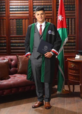 محمد سعيد عبدالواحد مبارك التخرج