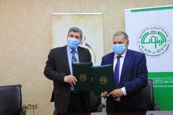 جامعة الزيتونة الأردنية توقع اتفاقية تعاون مع كلية المستقبل الجامعة العراقية