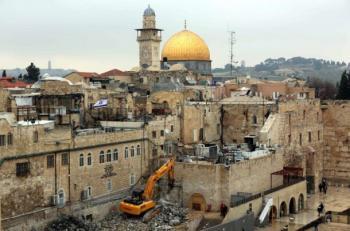 الاحتلال يدعو لمشاركة إسرائيلية واسعة في حفريات تحت الأقصى