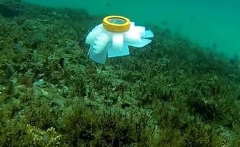 قنديل بحر روبوت لإنقاذ الشعاب المرجانية