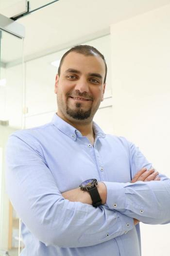 رامي الدباس ..  مبارك الماجستير