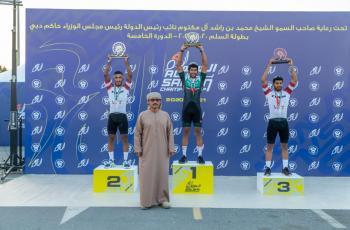 البلوشي يحصد لقب الهواة الإماراتيين في بطولة السلم للدراجات الهوائية