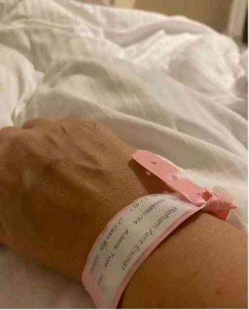 ريهام سعيد بعد إصابتها بكورونا: يارب إذا كانت دي النهاية أحسن خاتمتي