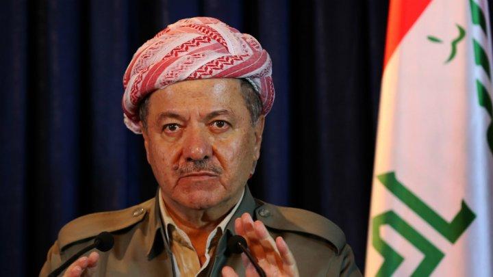 برزاني يحث الأكراد على تفادي حرب أهلية