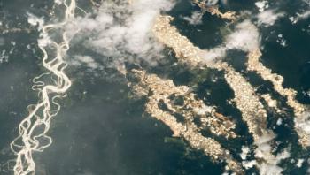 كشف حقيقة أنهار الذهب التي نشرت صورها ناسا