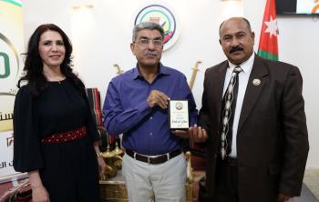 صلاح أبو لاوي في ضيافة منتدى البيت العربي الثقافي