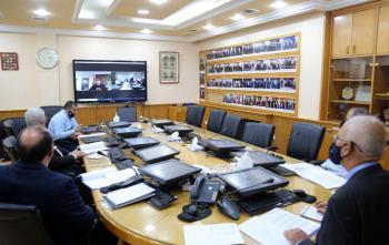 بحث تدريب المهندسين في وزارة الطاقة