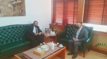 وزير التخطيط ورئيس بلدية معان يبحثان احتياجات البلدية