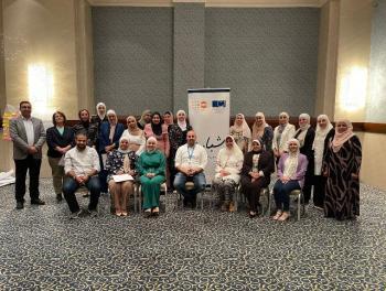 تمريض عمان الأهلية تشارك بورشة للجمعية الملكية للتوعية الصحية