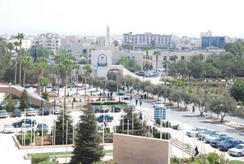 اليرموك: سقوط خزانة معلقة بقسم الكيمياء دون تسجيل إصابات