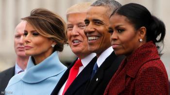 بعد 100 يوم ..  ميشيل أوباما تكشف سر دموع يوم التنصيب