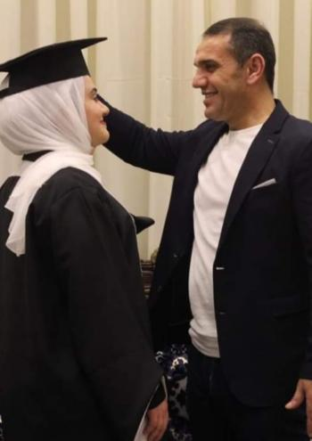 رغد عادل الدوايمة ..  مبارك التخرج