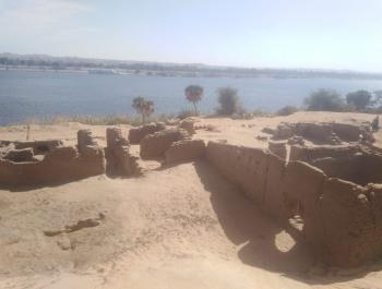 بعثة مصرية تعثر على بقايا حصن روماني في أسوان