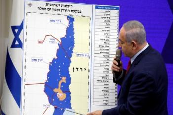نتنياهو يلمح لاعضاء حزبه ان الضم لن يكون في مطلع تموز