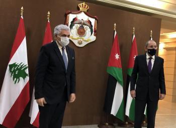 الصفدي: الأردن ولبنان متفقان على رفض الضم