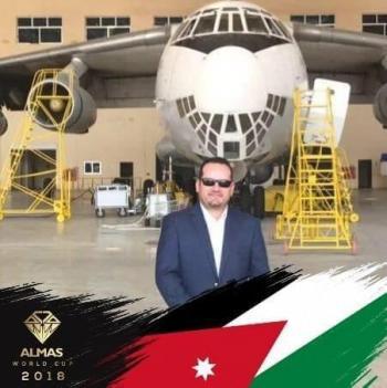 عبد السلام عبيدات  ..  مبارك الماجستير