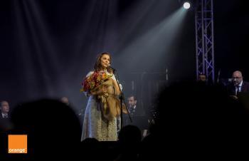 اورانج الراعي الذهبي لحفل الفنانة القديرة ماجدة الرومي