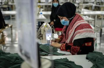 من المزار الشمالي  ..  ألبسة أردنية إلى الأسواق العالمية