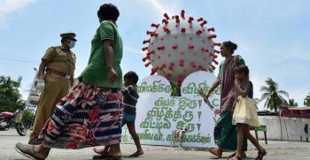 خلال 24 ساعة ..  الهند تسجل 702 وفاة و55 ألف إصابة جديدة بكورونا