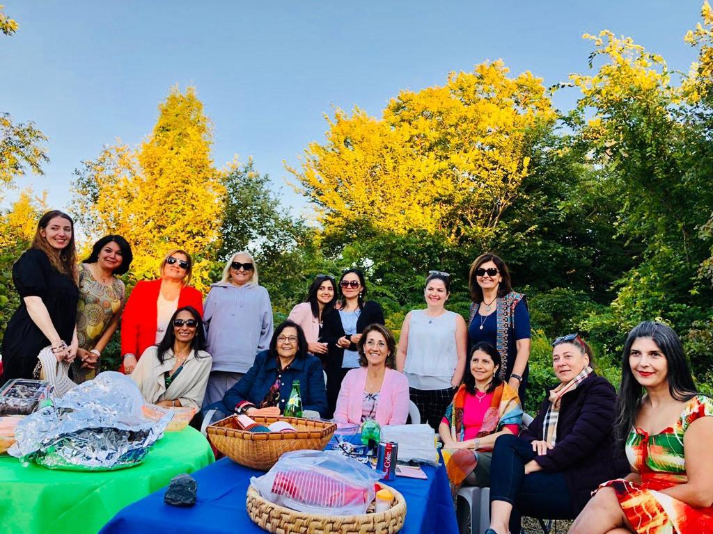 ريحاني تقيم جلسة أردنية في كندا