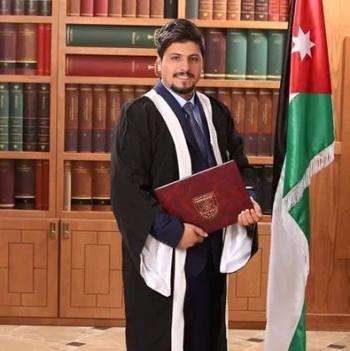 كريم عايد العدوان مبارك التخرج