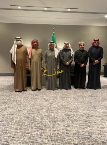 الحجرف يجتمع مع سفراء دول الخليج في الأردن