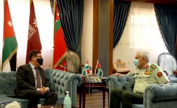 الحنيطي يستقبل سفير جمهورية هنغاريا