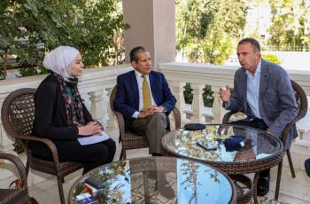 السفير المكسيكي يزور دار ابو عبدالله