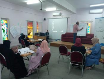 المفرق: اختتام برنامج تدريب تطوير المساحات والممارسات في المجتمعات المضيفة