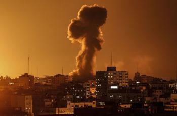 طائرات الاحتلال تقصف أراضي جنوب قطاع غزة