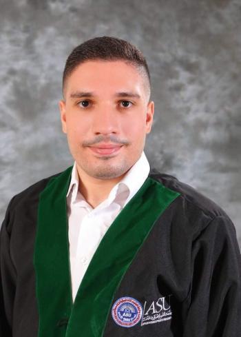 عبدالقادر قطان مبارك التخرج