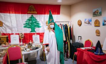 حكايات الأرز وألغار سفن الفينيق يرويها الركن اللبناني في أيام الشارقة التراثية 18