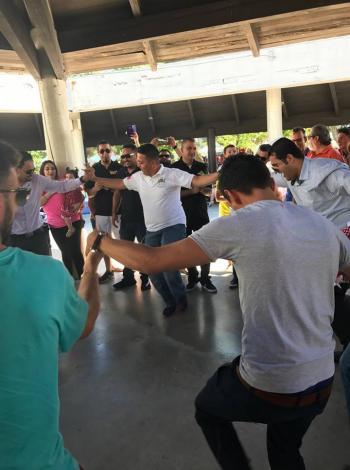 الجالية الاردنية في كاليفورنيا تحتفل بعيد الاستقلال