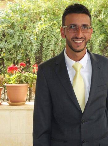 المهندس عدي خليفات مبارك الخطوبة