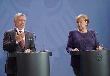 الملك يزور ألمانيا الاربعاء ويلتقي ميركل