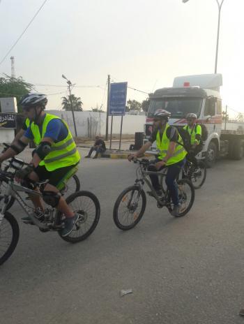 وصول فريق جولة الحرية من القدس الى العقبة