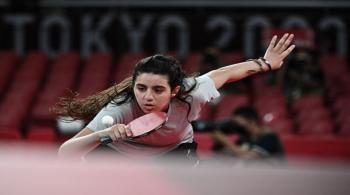 خروج أصغر مشاركة في أولمبياد طوكيو السورية ظاظا