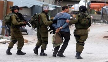الاحتلال الاسرائيلي يعتقل 14 فلسطينيا