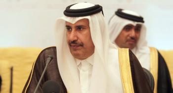تلفزيون البحرين:اتصال هاتفي بين رئيس وزراء قطر السابق ومعارض بحريني