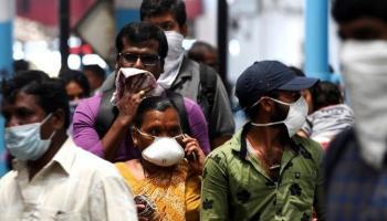 الهند ..  أعلى معدل وفيات بكورونا في يوم واحد
